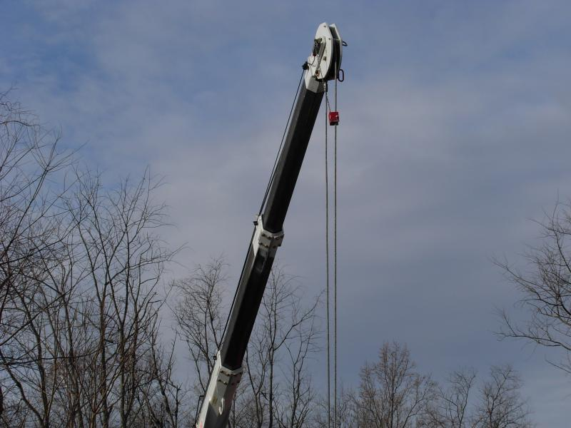 Crane Sets are an Additional Charge